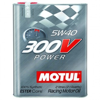 Масло моторное MOTUL 300V Power 5W-40 2л
